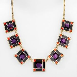 Kate Spade Lewitt Squares Necklace